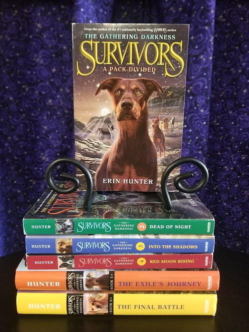 Complete Series Survivors: Gathering Darkness by Erin Hunter