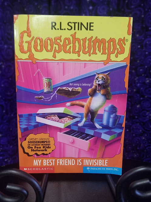 Goosebumps: My Best Friend is Invisible by R.L. Stine