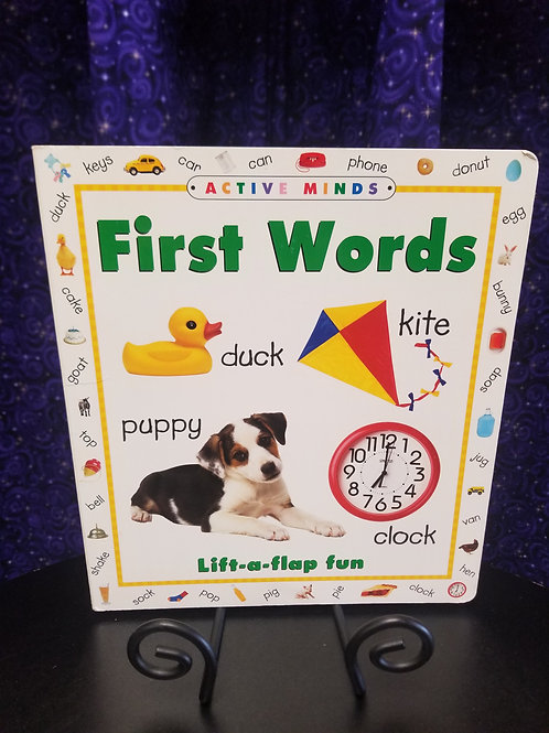 First Words Lift-the-flap Book