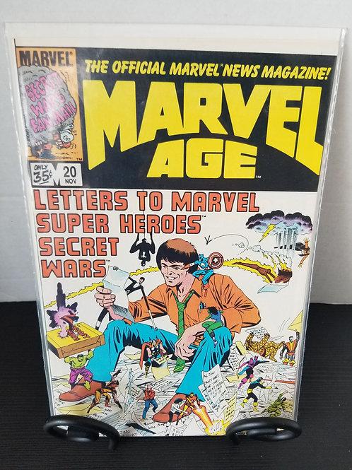 Marvel Age #20