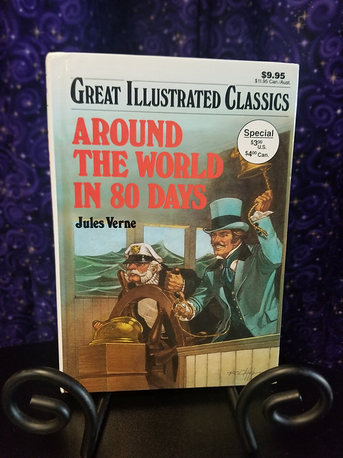 Great Illustrated Classics: Around the World in 80 Days by Jules Verne