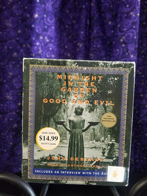 Midnight in the Garden of Good and Evil by Berendt - Audiobook