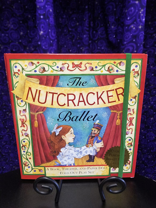 Nutcracker Ballet: Book, Theatre & Paper Doll Fold-out Playset