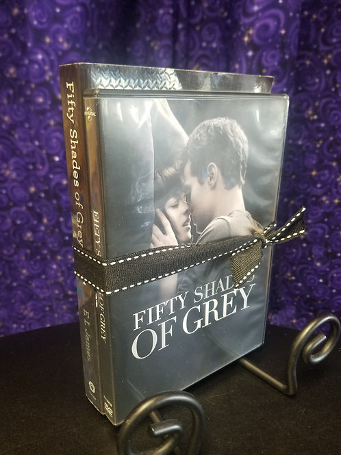 Fifty Shades of Grey Book and Movie Bundle