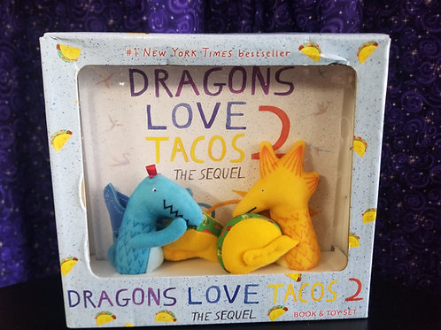 Dragons Love Tacos Book & Plushie Box Set