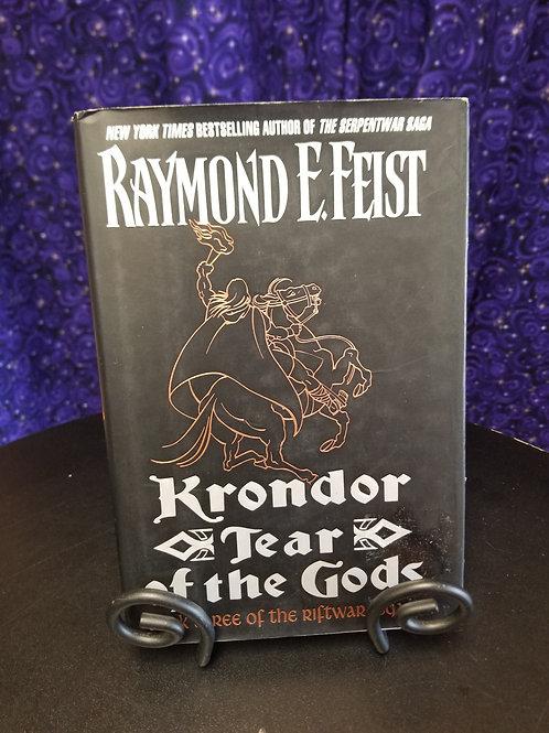 Krondor Tear of the Gods by Raymond Feist