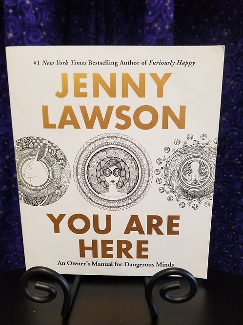 Jenny Lawson 'You Are Here' Coloring Book