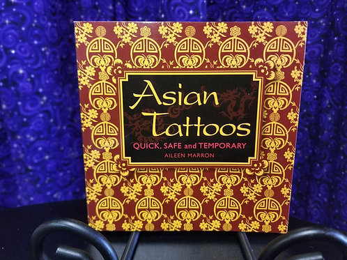 Asian Tattoos:  Quick, Safe, & Temporary