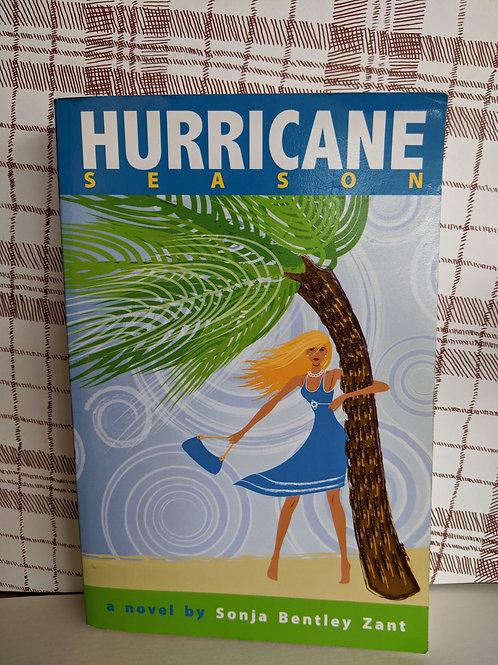 Hurricane Season a novel by Sonja Bentley Zant