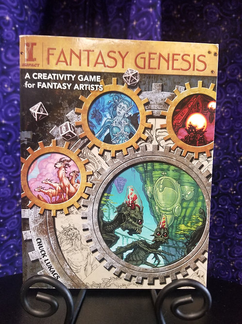 Fantasy Genesis: A Creative Game For Fantasy Artists