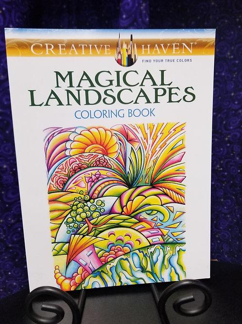 Magical Landscapes Coloring Book