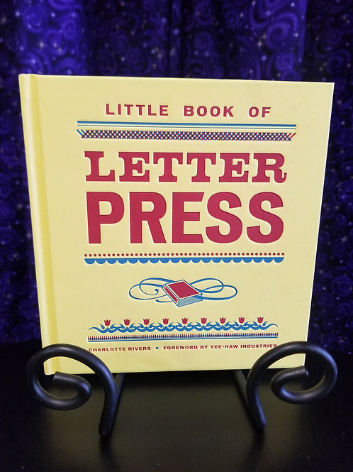 Little Book of Letter Press