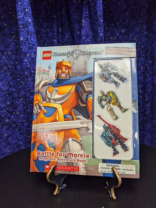 Lego Knight's Kingdom: Battle for Morcia Magnetic Adventure Book