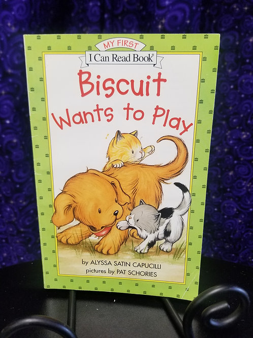 Biscuit Wants to Play Early Reader