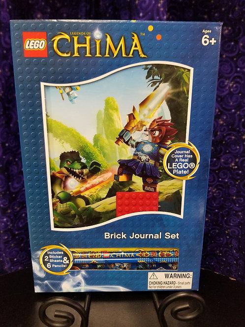 Lego Chima Brick Journal Set
