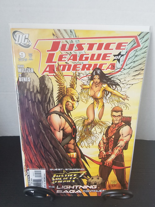 Justice League of America #9, 2007