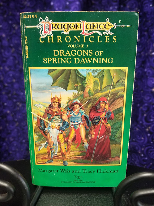 Dragonlance Chronicles Vol. 3: Dragons of Spring Dawning by Weis/Hickman