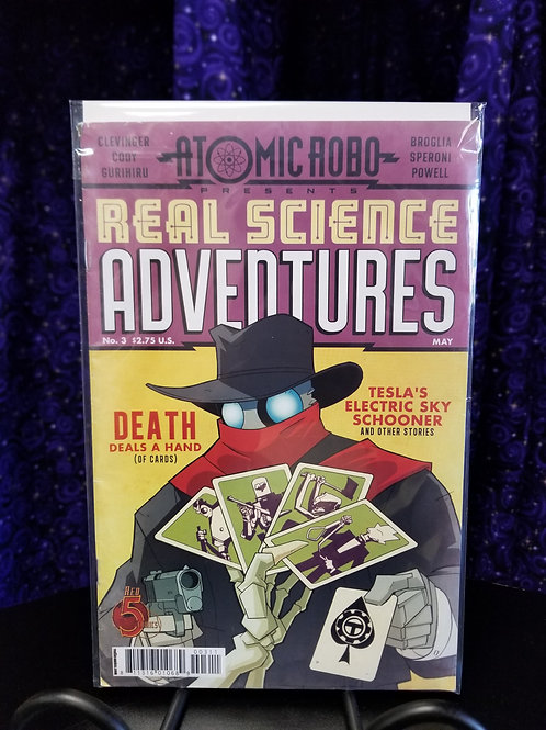 Atomic Robo Real Science Adventures #3