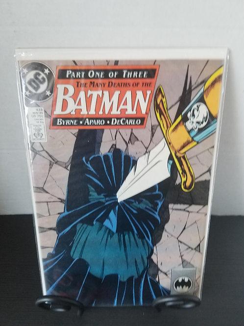 Many Deaths of Batman part 1 of 3