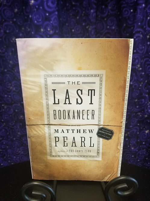 Last Bookaneer by Marthew Pearl