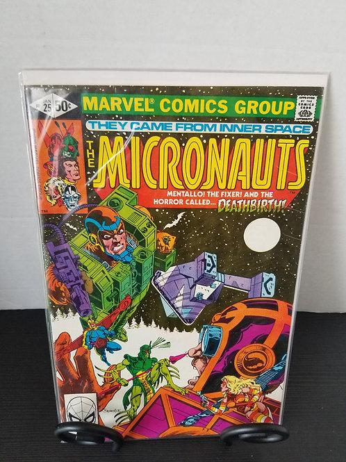 Micronauts #25, 1980