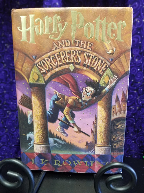 Harry Potter & the Sorcerer's Stone by J.K Rowling