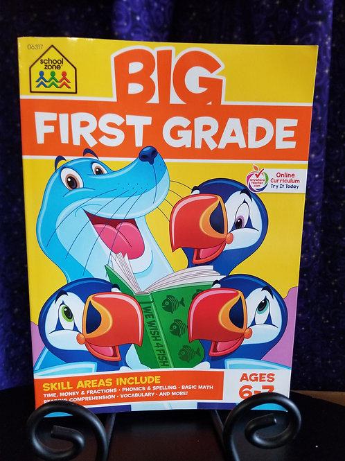 Big First Grade Skills Workbook