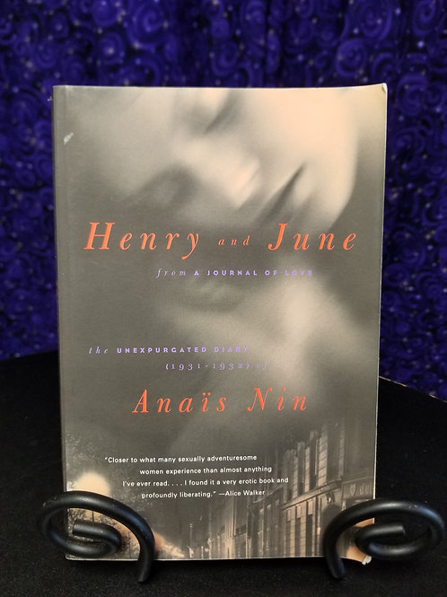Henry and June by Anais Nin