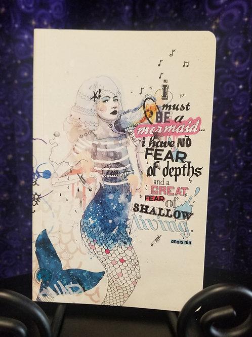 Mermaid Quote Journal (Anais Nin)