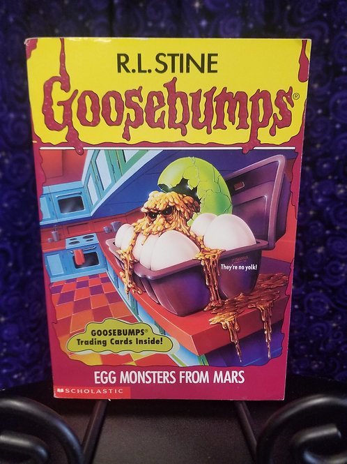 Goosebumps:  Egg Mosters From Mars by R.L. Stine