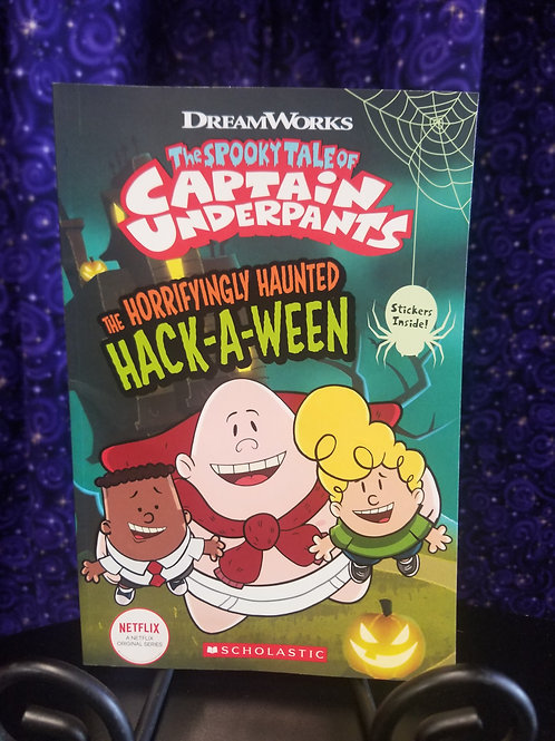 Captain Underpants Horrifyingly Haunted Hack-a-Ween