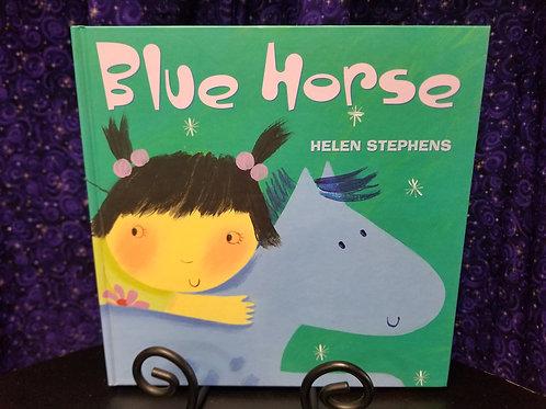 Blue Horse by Helen Stephens