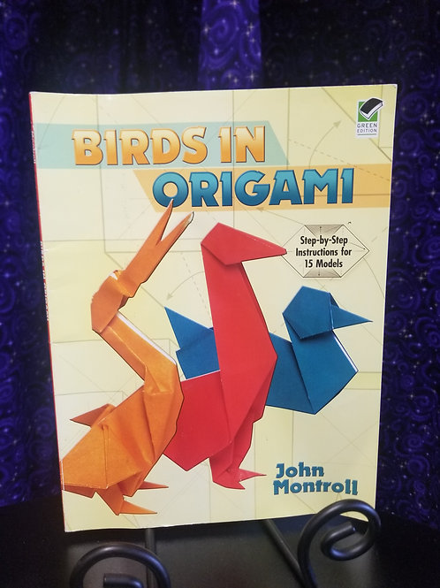 Birds in Origami: Step by Step Instructions