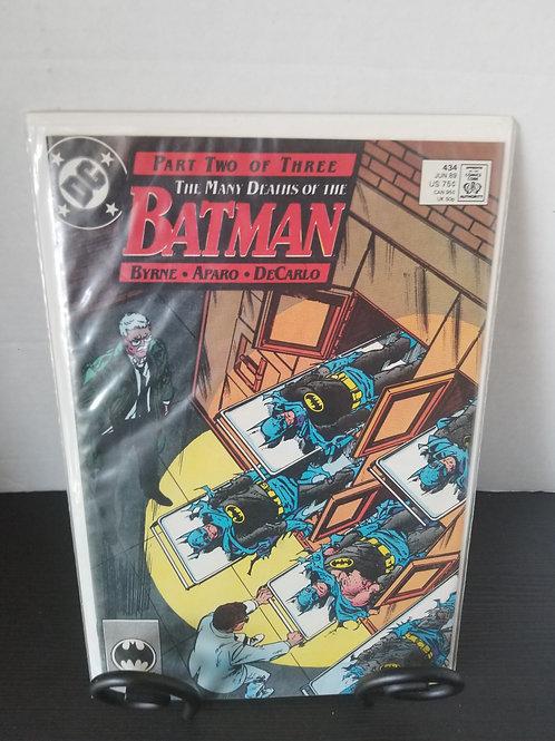 Many Deaths of Batman Part 2 of 3