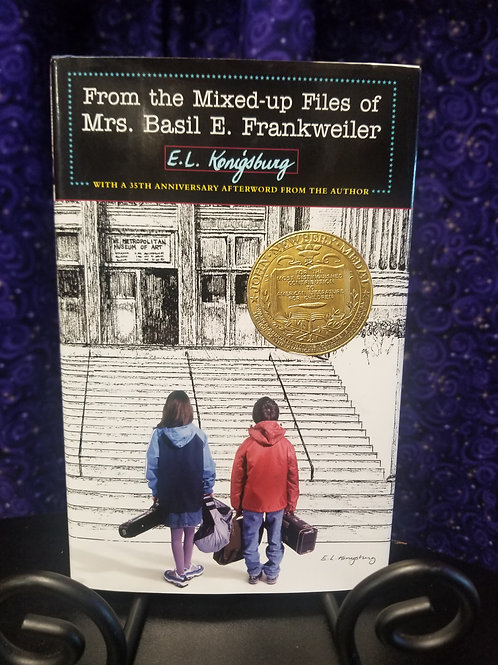 From the Mixed Up Files of Mrs. Basil E. Frankweiler by E.L. Konigsberg