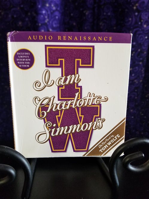 I Am Charlotte Simmons by Tom Wolfe- Audiobook