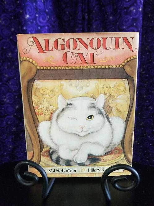 Algonquin Cat by Val Schaffner