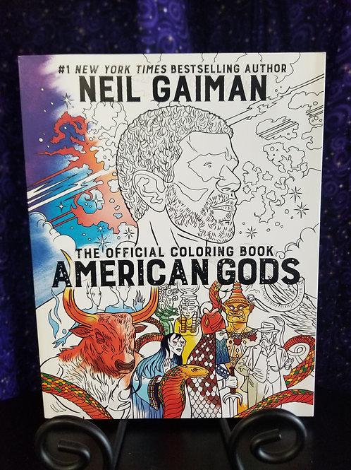 American Gods Coloring Book