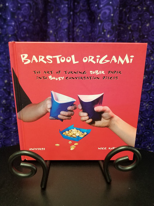 Barstool Origami: Turning Sober Paper into Boozy Conversation Pieces