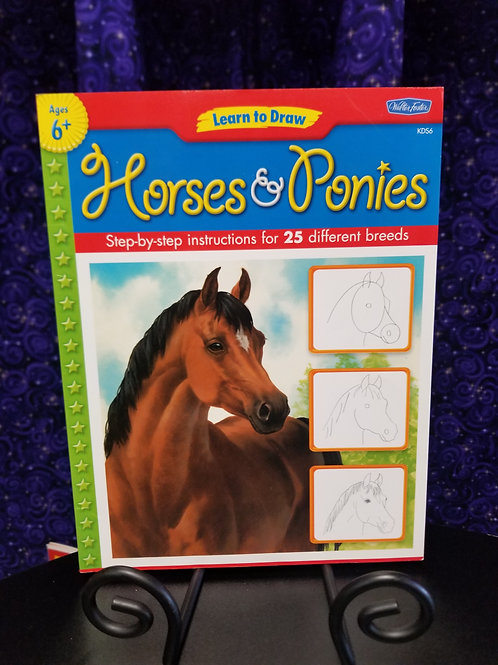 Learn to Draw Horses and Ponies:  Instructions for 25 Breeds