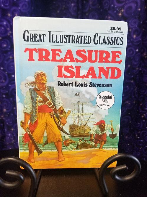 Great Illustrated Classics: Treasure Island by Robert Louis Stevenson