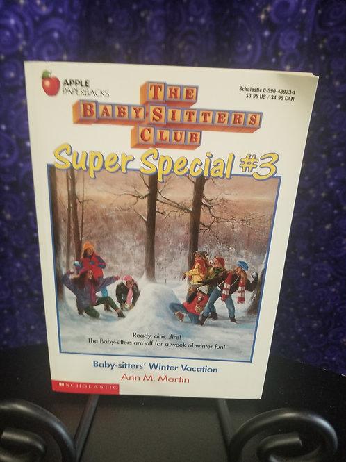 Babysitter's Club Super Special #3: Winter Vacation