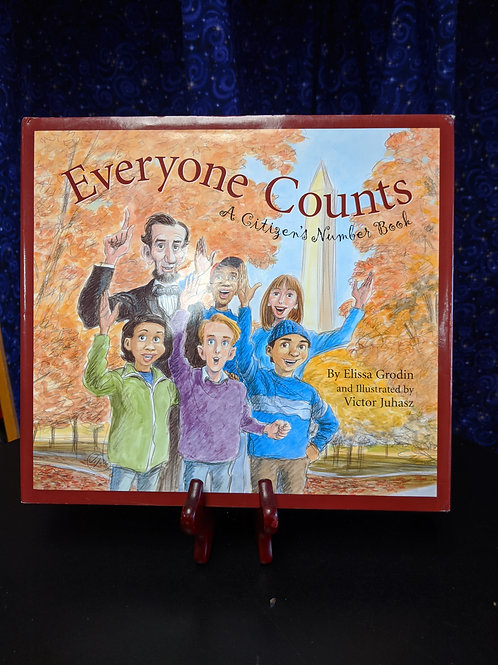 Everyone Counts: A Citizen's Number Book by Elissa Grodin