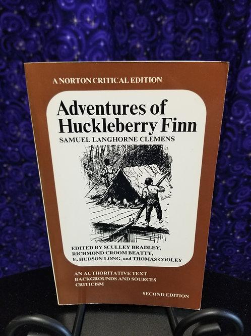 Adventures of Huckleberry Finn Norton Critical Edition