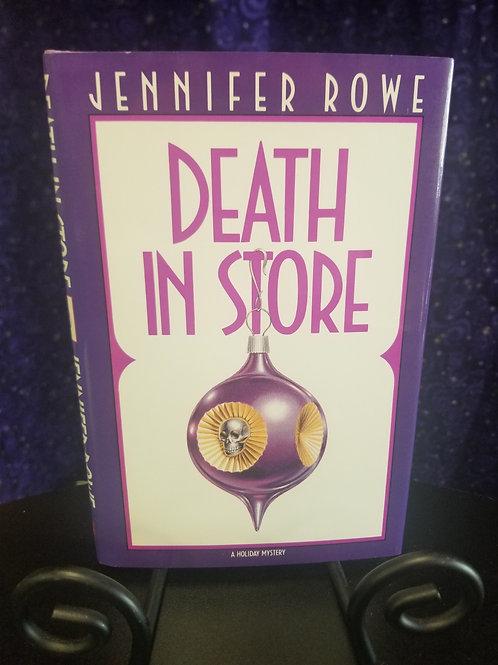 Death in Store by Jennifer Rowe