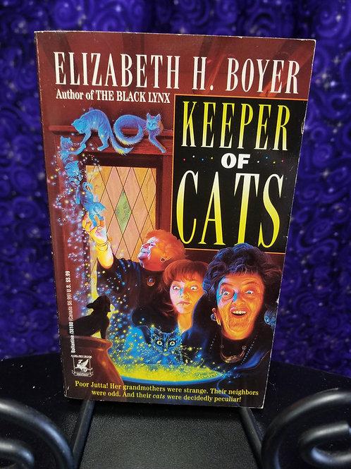 Keeper of Cats by Elizabeth Boyer