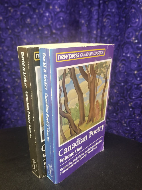 Canadian Poetry Volumes 1 & 2