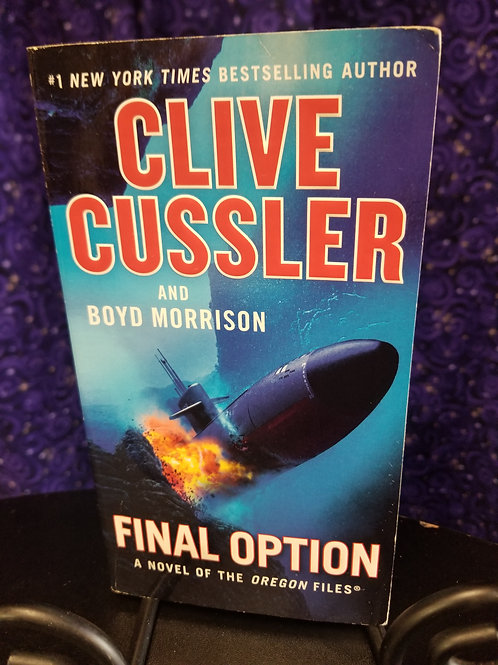 Final Option by Clive Cussler/Morrison