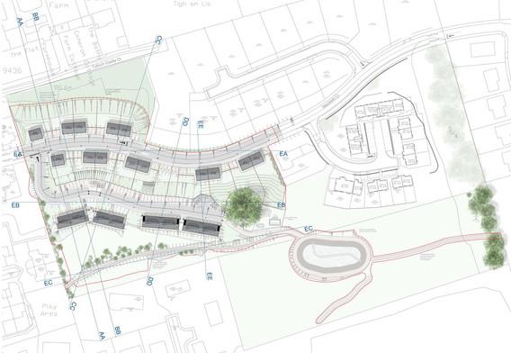 St Andrews Road - Site Plan