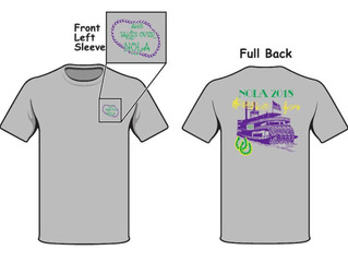 Order your New Orleans Trip T-shirt!